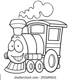 train coloring # 10
