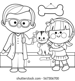 doctor coloring page # 12