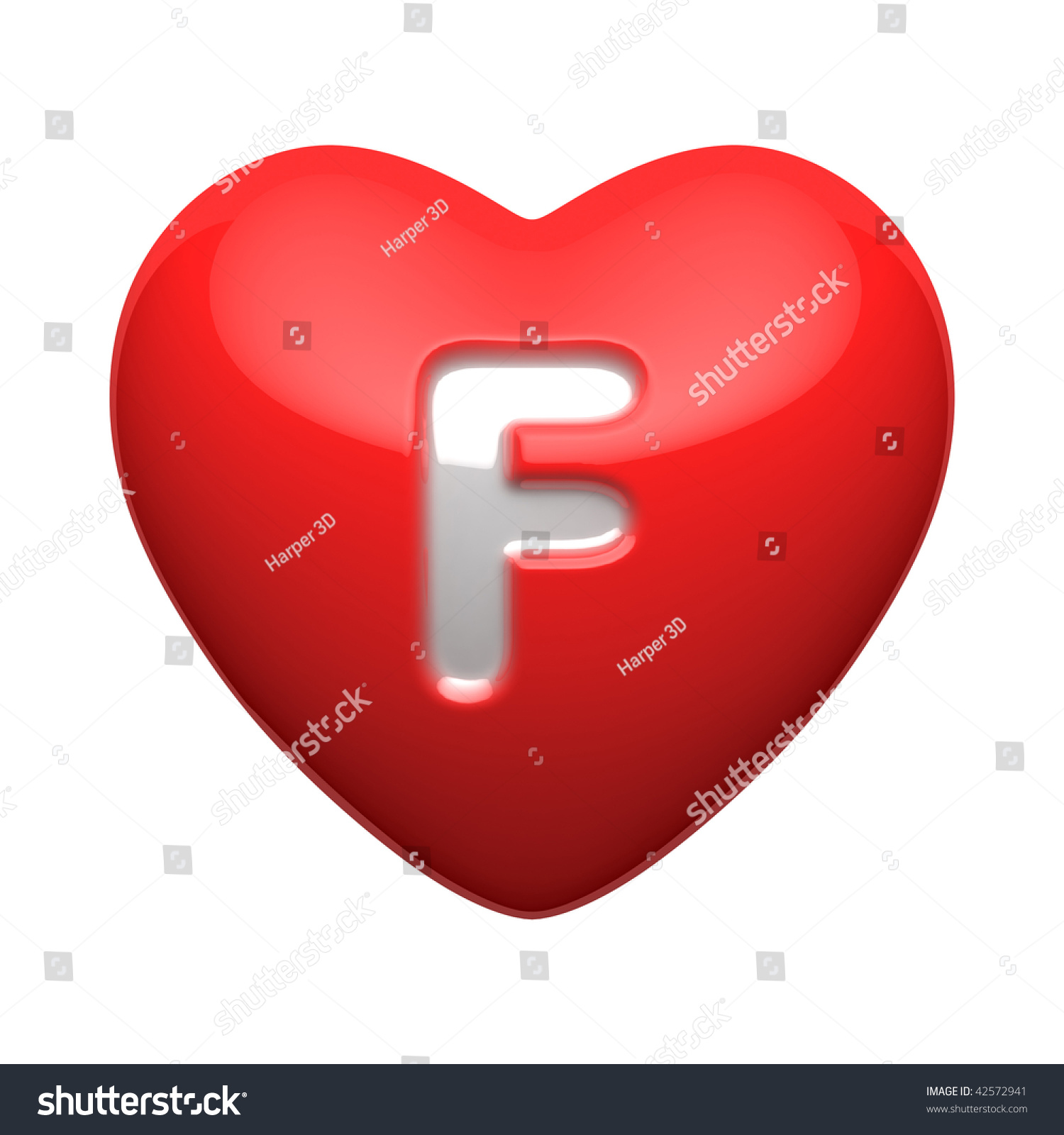 Letter F Alphabet Hearts There Clipping Stock Illustration 42572941     Letter F from alphabet of hearts  There is a clipping path