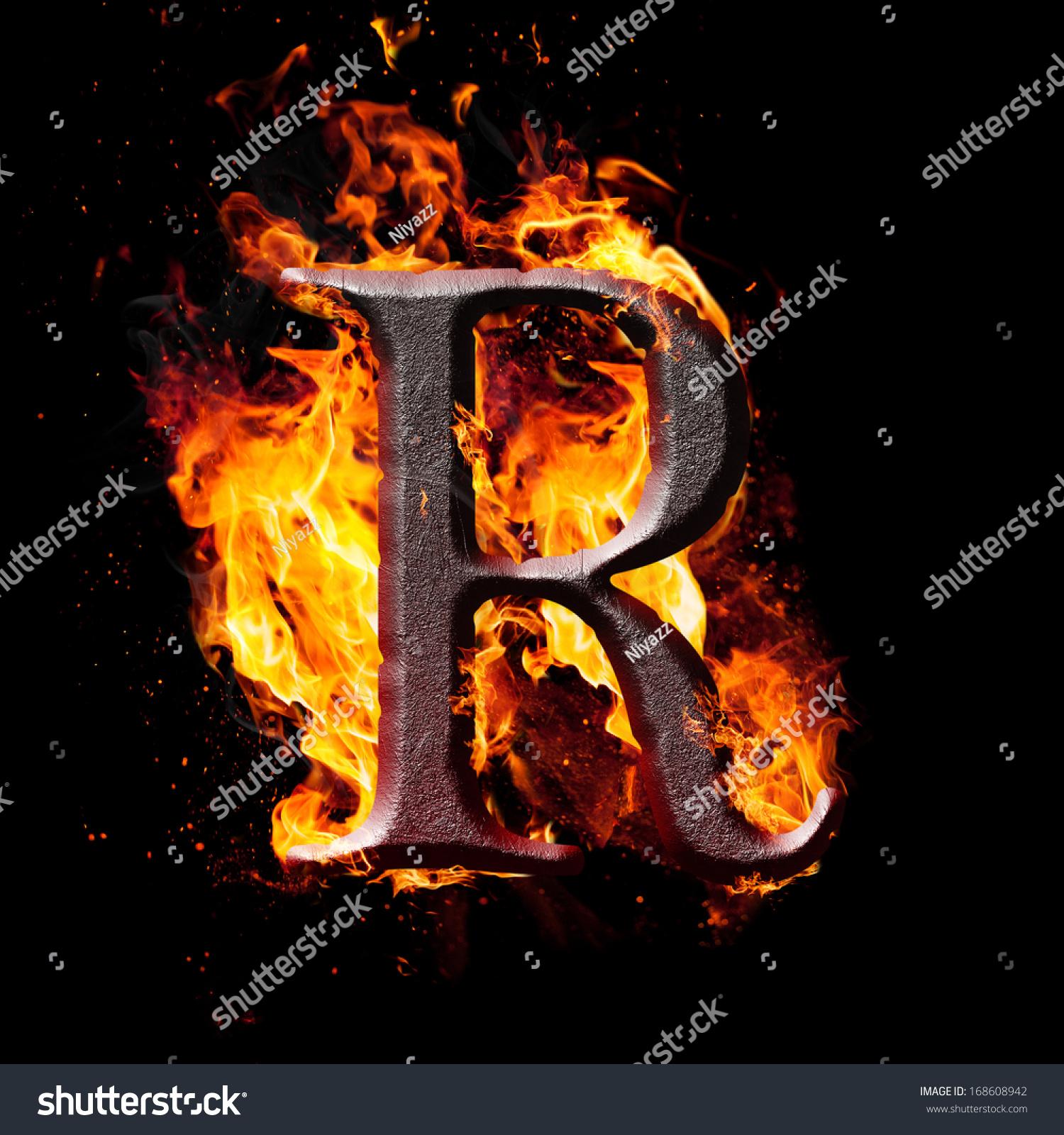 L letters font burning on fire altavistaventures Gallery