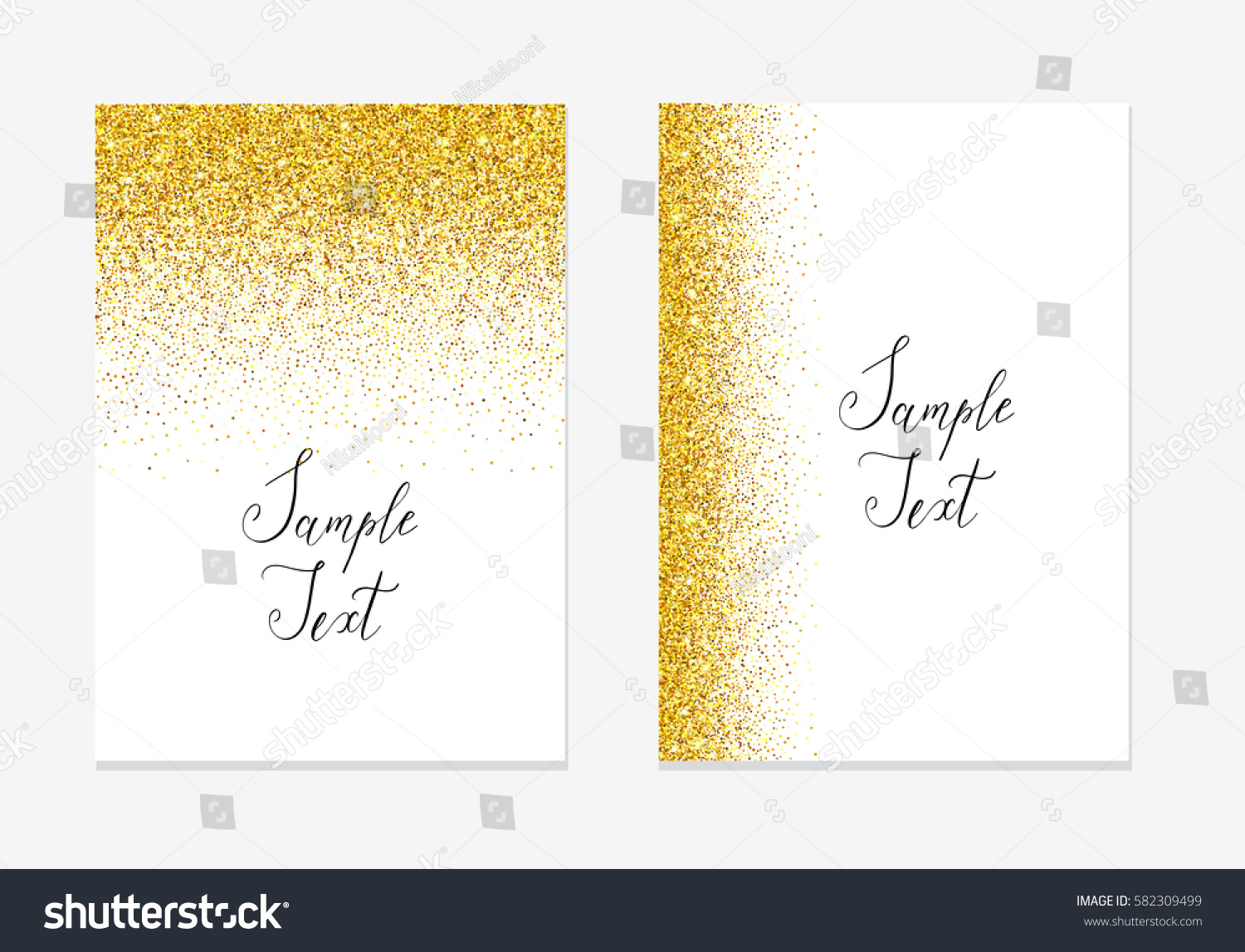Gold Sparkle New Year Border     Merry Christmas And Happy New Year 2018 gold sparkle new year border
