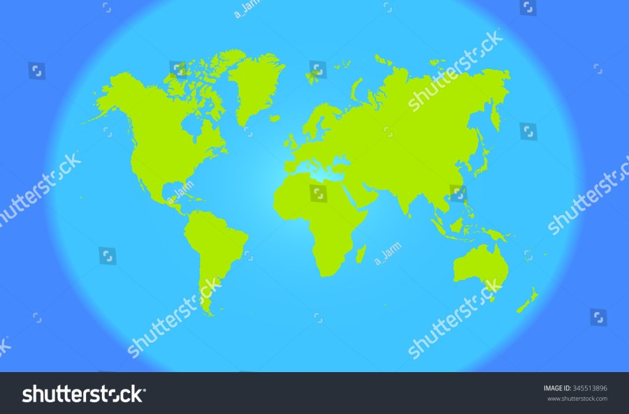 World map in round shape pictures 4k hd fospo pictures green modern world map blue oceans stock vector royalty free green modern world map with blue gumiabroncs Image collections