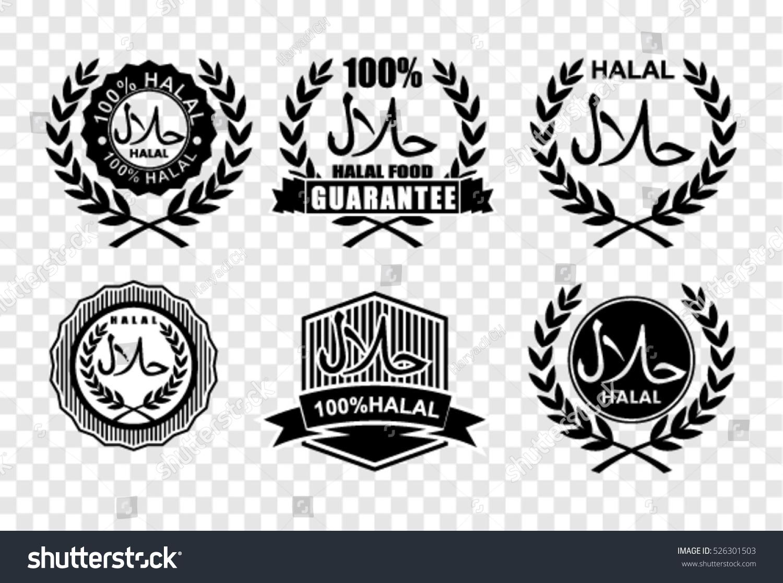 Halal Certified Symbols