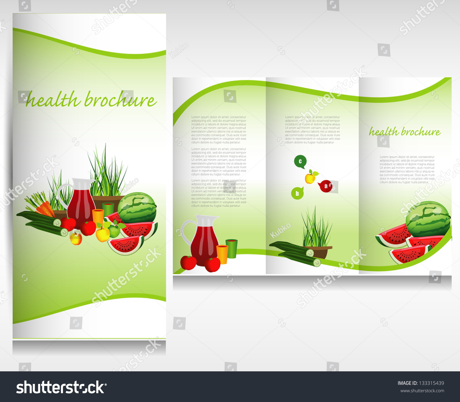 Fresh Vegetable Logo Vector