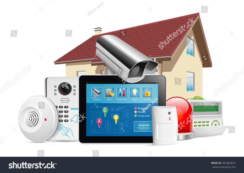 Residential Alarm Systems Cameras