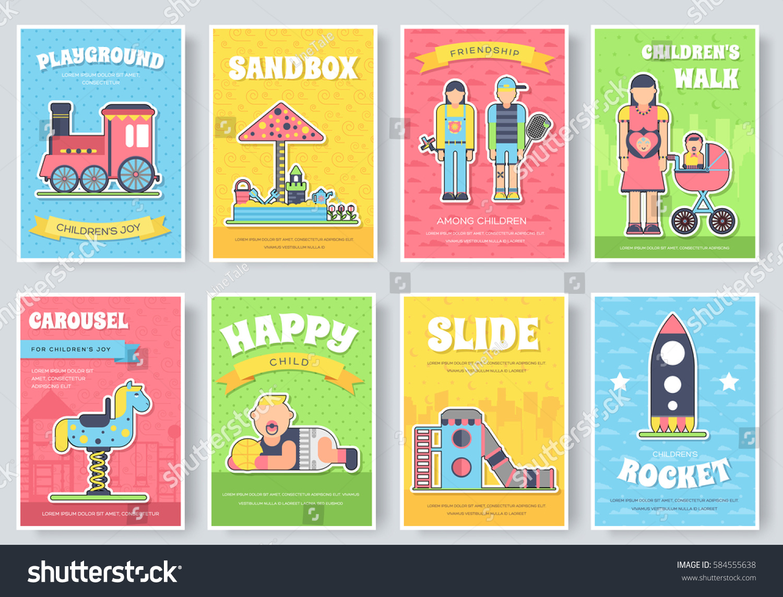 Book Park Set Playground Swing