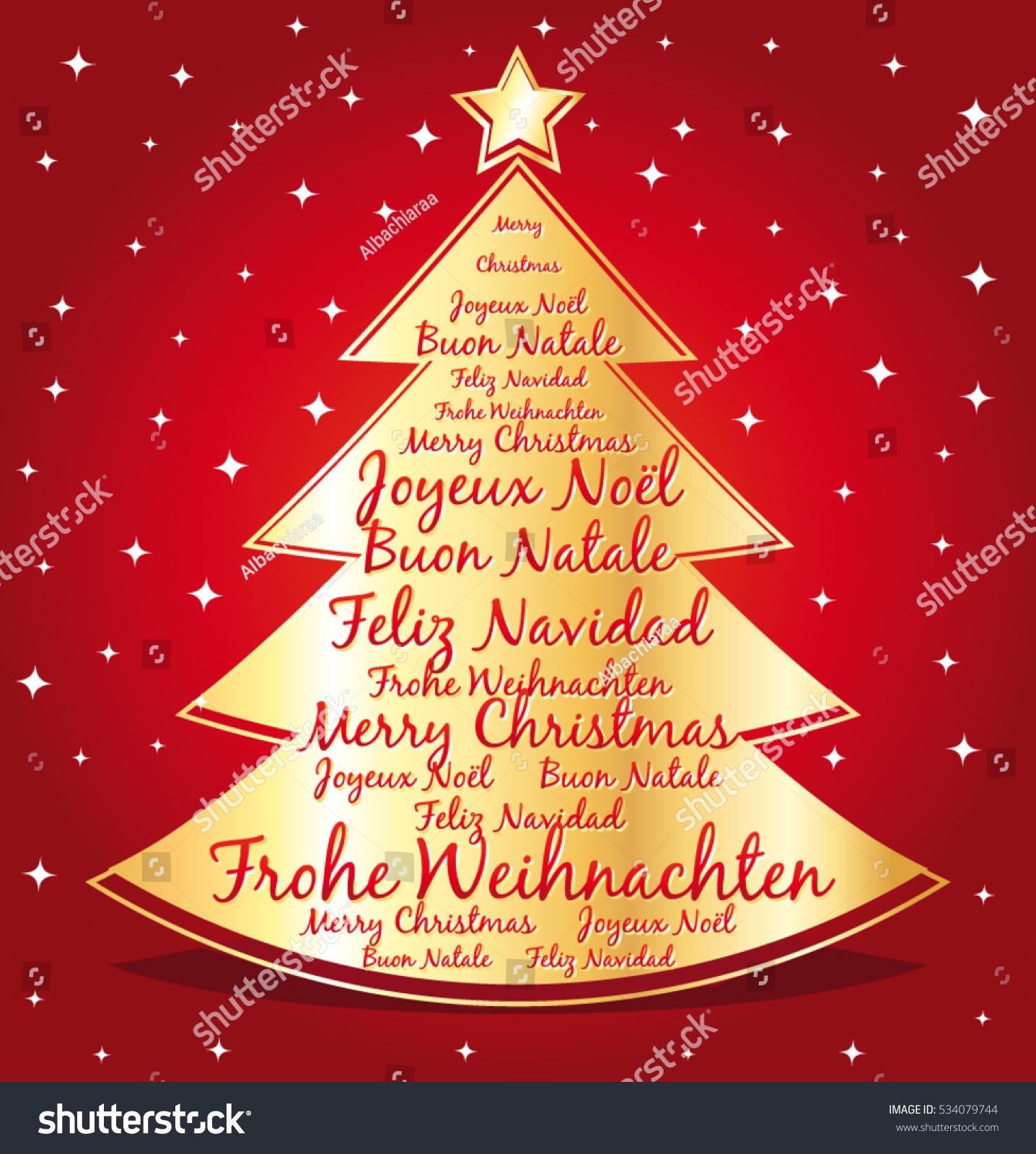 Merry Christmas Greetings Spanish
