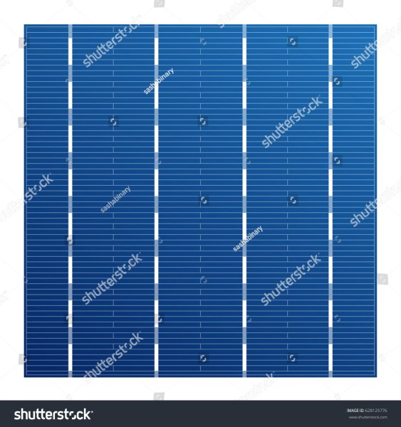 Monocrystalline Solar Cell Solar Modules Vector Stock Vector     Monocrystalline solar cell for solar modules  Vector photovoltaic system  element  Electric element for charge