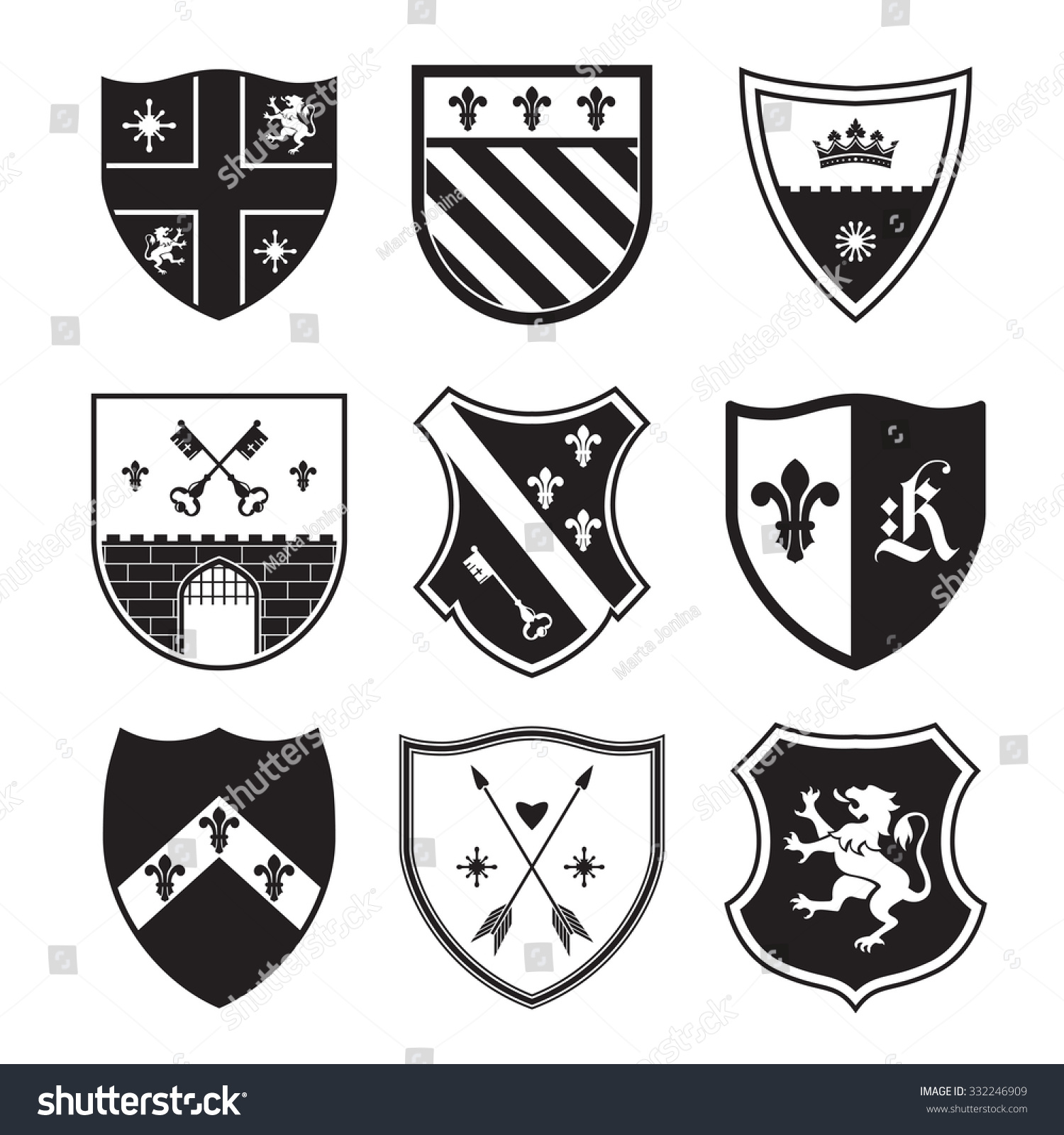 Coat Arms Color Meanings