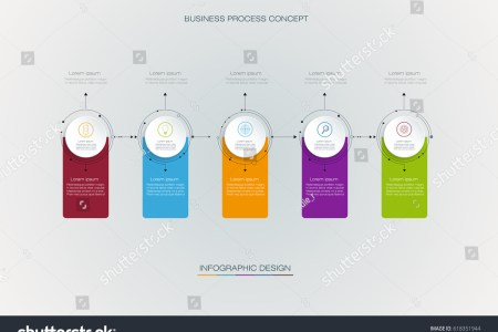 Vector Infographics Timeline Design Template Label Stock Vector     Vector infographics timeline design template with label design and icons  5  options or steps