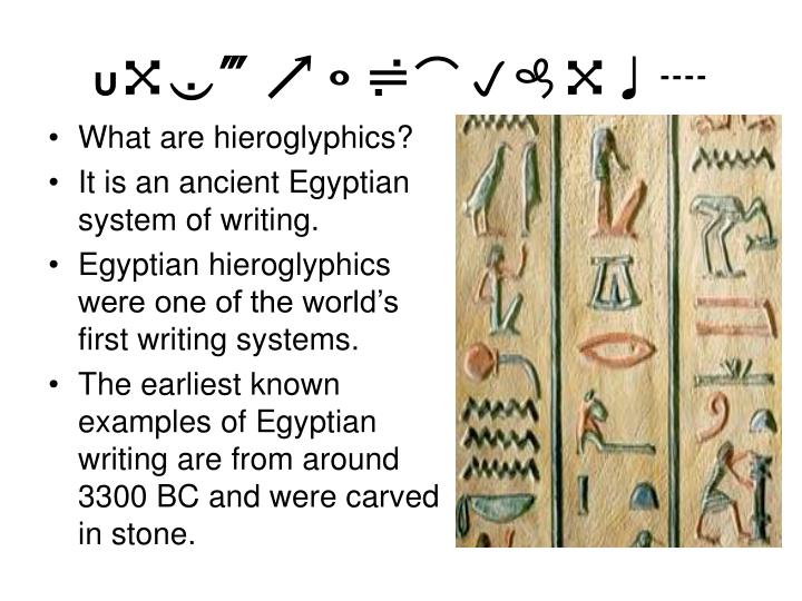 Papyrus Reeds Ancient Egypt Writing