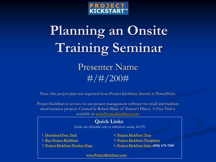 training seminar invitation - 720×540