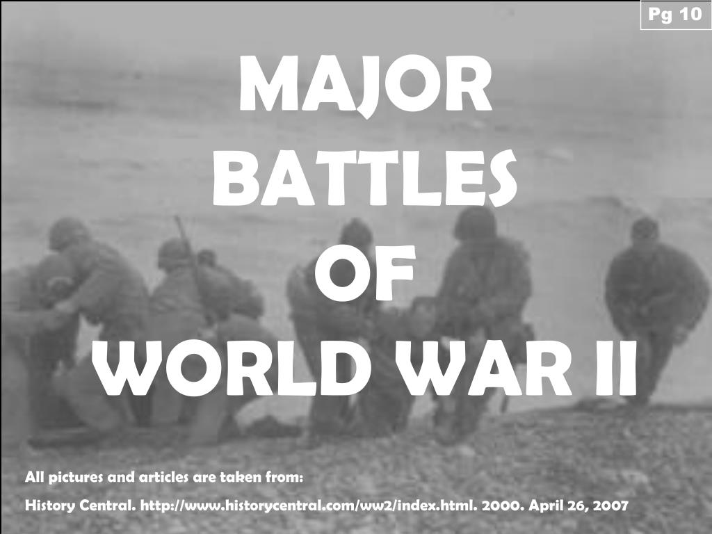 major battles of wwii - 960×720