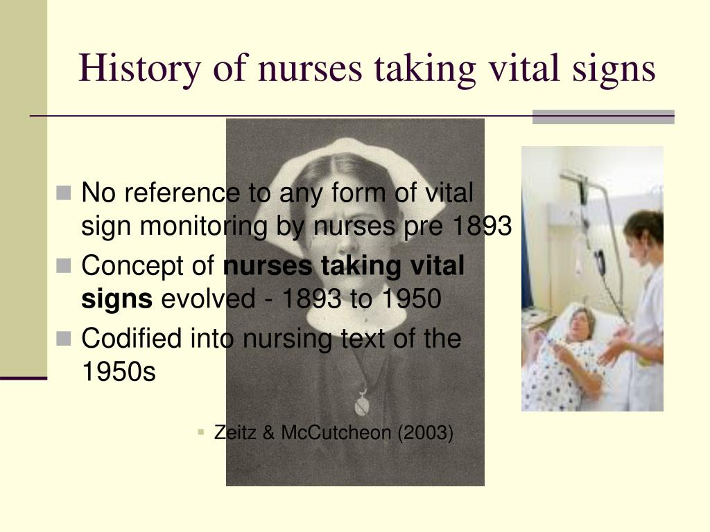 PPT - Vital Signs The ultimate tradition An EBP Journey of ...