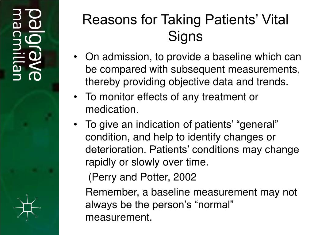 PPT - Chapter 16 VITAL SIGNS PowerPoint Presentation - ID ...