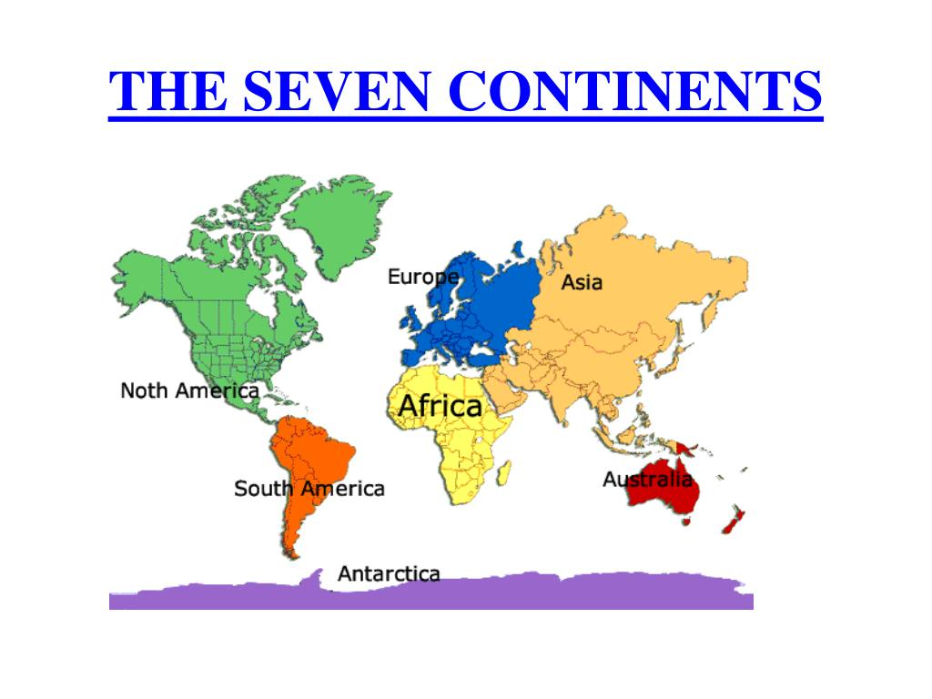 PPT - THE SEVEN CONTINENTS AFRICA Africa is the second ...