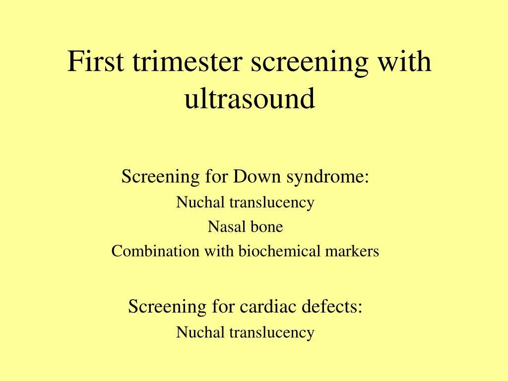 Nuchal Nasal Translucency Bone