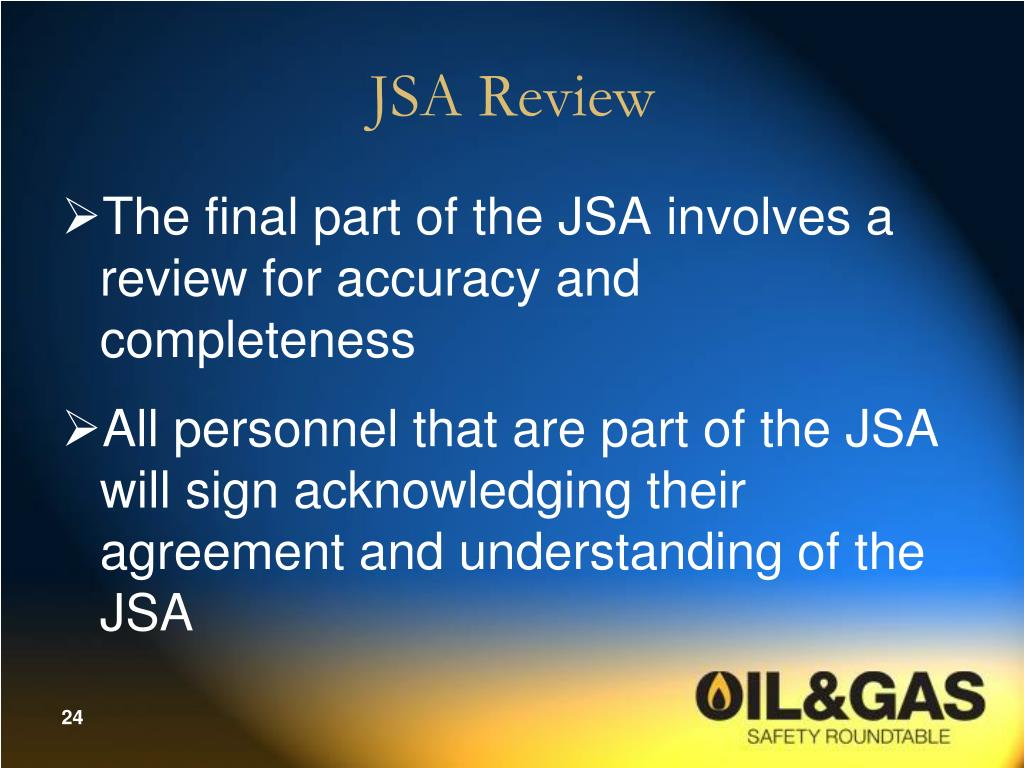 Jsas Why Are Important