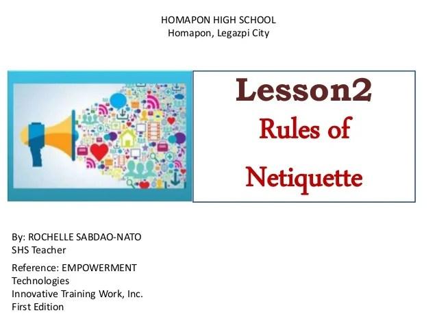 Royalty Free Netiquette Rules - Jinggo