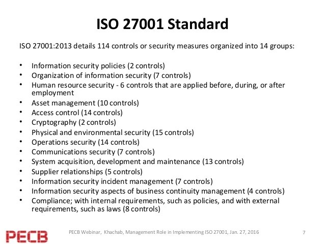 Iso Security Policy
