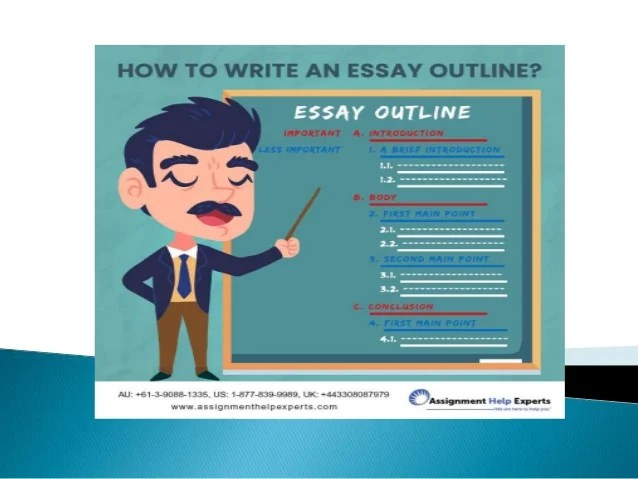 How to write an essay outline  What is an essay outline  3 How to write an essay outline