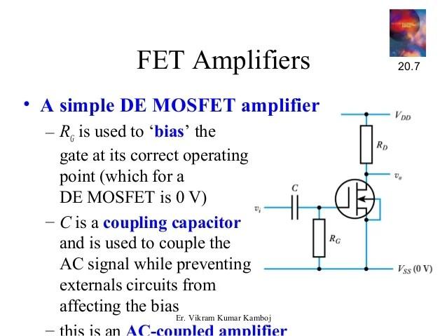 Simple Fet Amplifier Circuit