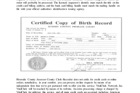 Free Professional Resume » request copy of marriage certificate ...