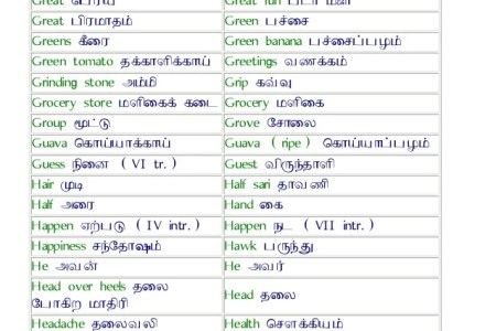 Hindi Tamil Translation Book Free Download