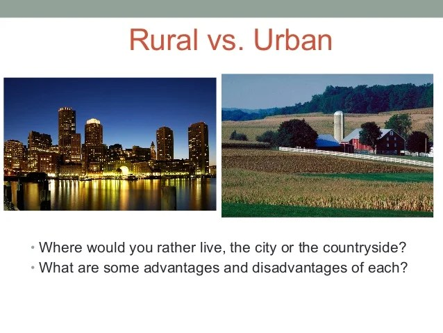 1920s And Rural Differences America Urban