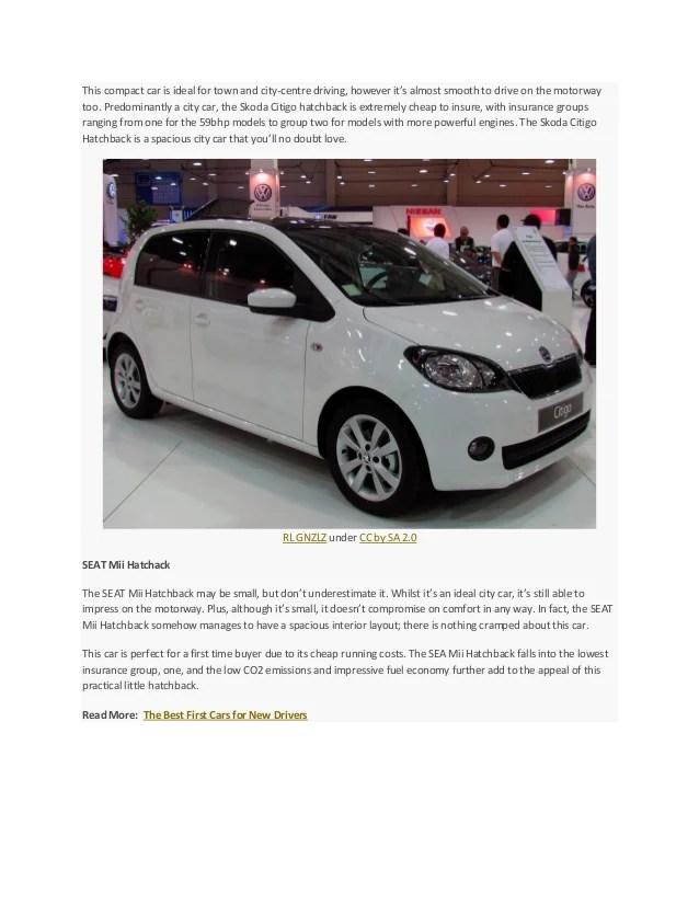 List Cars Cheapest Insure