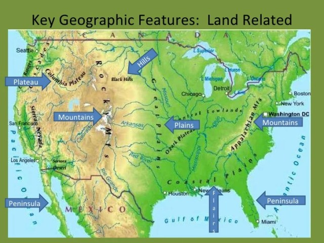 2d geographic features     11