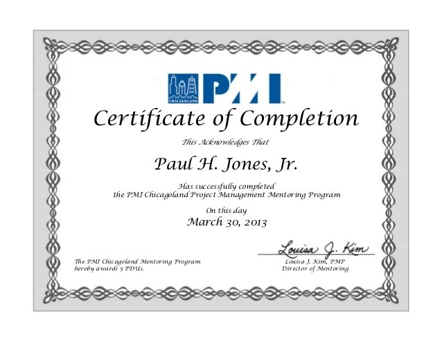 Issa Certification Certificate