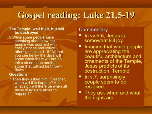 25 20 Luke Commentary 17