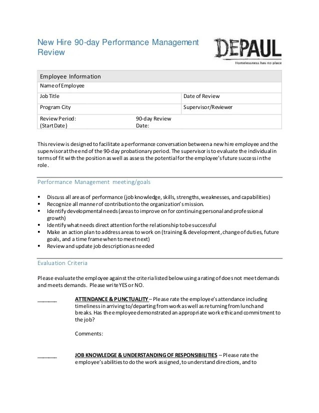 Depaul USA The Hiring Process Packet Selection and Staffing