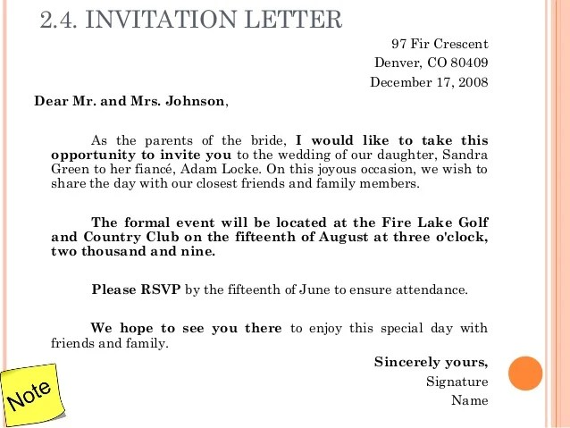 Marriage Invitation Draft
