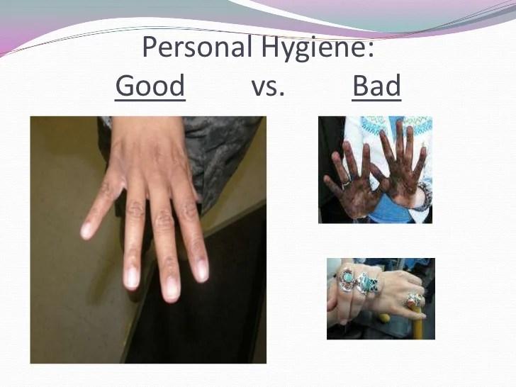Washing And Hands Good Bad