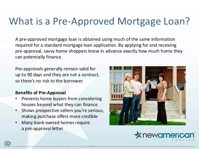 5 Things You Need to Be Pre-Approved for a Mortgage Loan ...