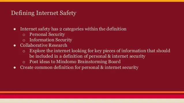 Safety And Security Definition