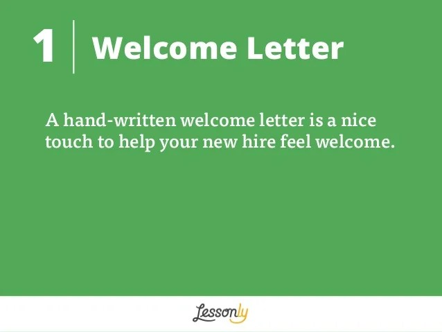 8 New Hire Packet Ideas by Lesson.ly