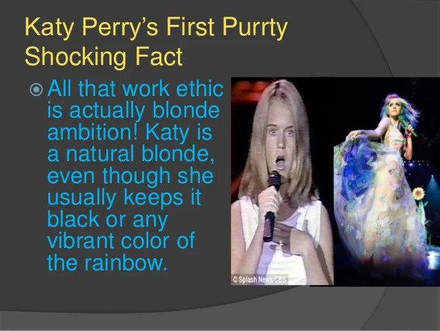 8 Things You Didn't Know About Katy Perry