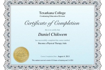 best Physical Therapy Aide Certification Online image collection