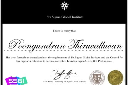 Free Certificate Templates » council for six sigma certification ...