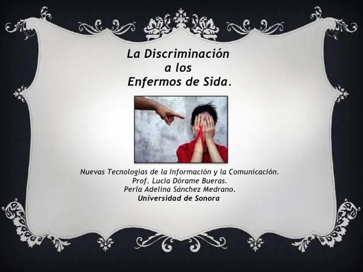 Sida Discriminacion