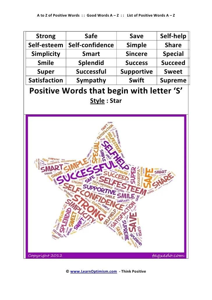 Imgenes De List Of Words Starting With Z