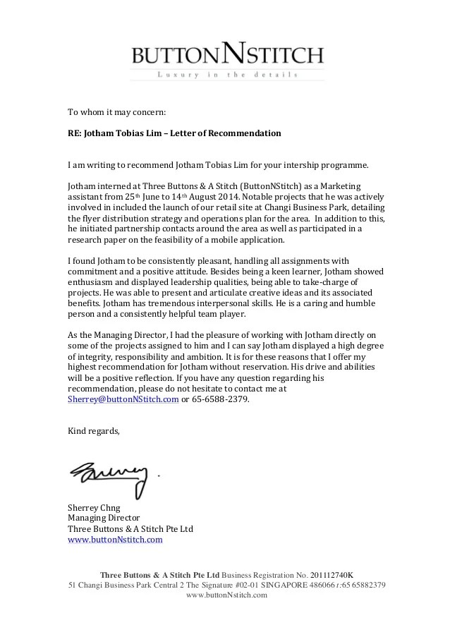 Student Letter Recommendation Pt
