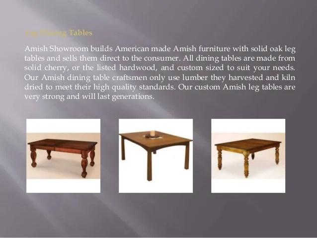Amish Farm Tables Sale