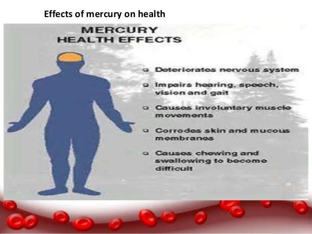 Effects Mercury Poisoning
