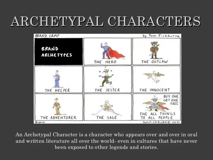 Comics Archetypes Literature Examples