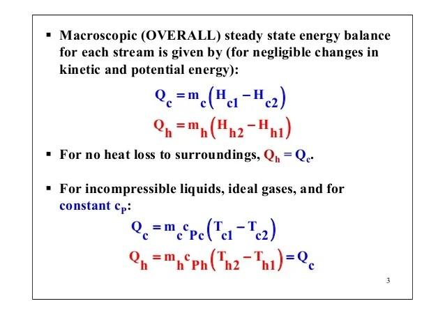 Heat Loss Pipe Equations