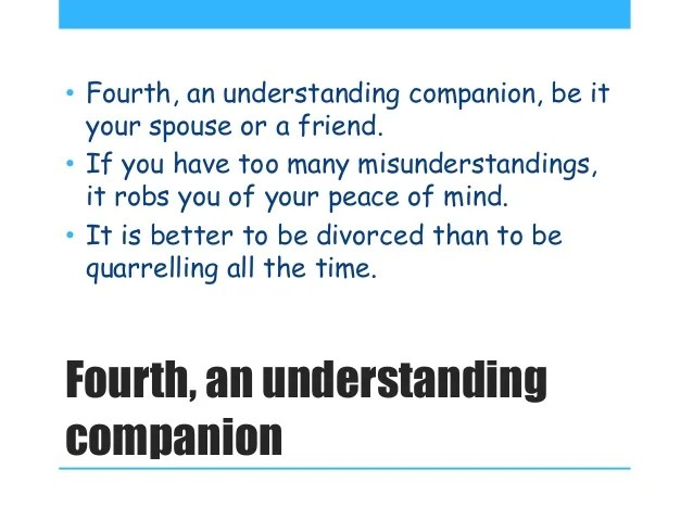 Others Comparing Spouse Your